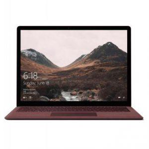 سرفیس لپ تاپ قرمز کبود